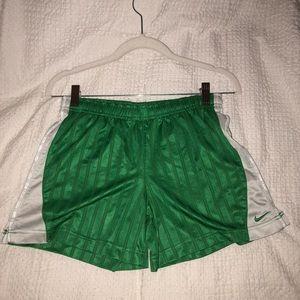Green Nike Soccer Shorts
